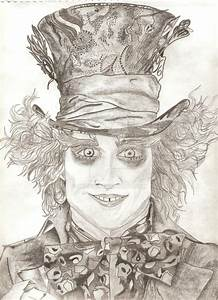 Tim Burton's Mad Hatter by orlie12 on DeviantArt