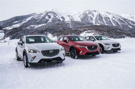 mazda car lineup 3 things we learned at mazda s ice academy motor trend
