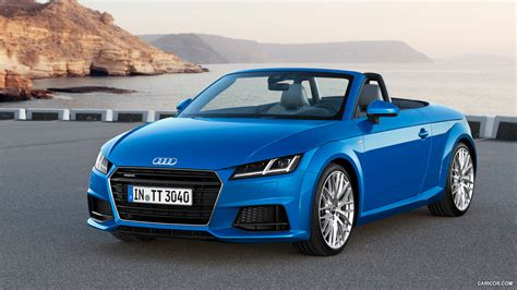 audi tt roadster blue pc hd desktop wallpapers  hd