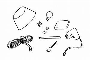 Fabriquer Une Lampe De Chevet : comment fabriquer une lampe de chevet crayons pinceaux ~ Zukunftsfamilie.com Idées de Décoration