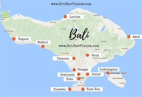 bali map   stay  bali balidestination bali