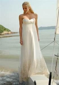 Wedding trend ideas beach wedding dresses casual for Casual wedding dress beach