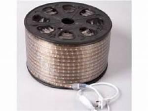 Lumiere Exterieur Led : ruban flexible led exterieur de 100 metres blanc pur ~ Preciouscoupons.com Idées de Décoration