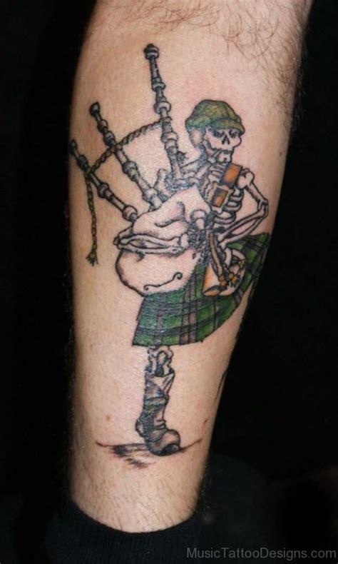 bagpipes tattoos