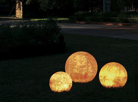 Dekorative Leuchtkugeln (naturstein Dekoration