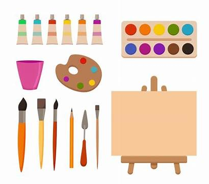 Cartoon Painting Drawing Canvas Watercolor Paint Supplies