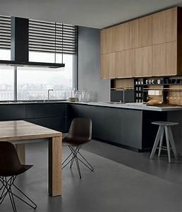 Küche Grau Holz : wandschrank f r k che finden sie das richtige design ~ Michelbontemps.com Haus und Dekorationen