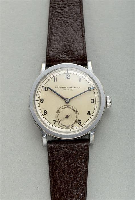 Record Genève Vintage 'Calatrava' Wristwatch | Shuck the ...