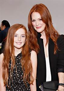 9 Times Julianne Moore's Daughter Liv Looked Just Like Her ...