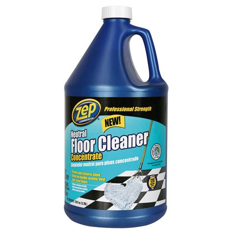 neutral floor cleaner zep neutral floor cleaner 1 gal qc supply