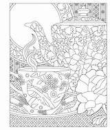 Coloring Pages Tea Elegant Adult Invited Relax Re Laurie Enjoy Books Adults Colouring Princess Sheets Issuu Popular Printable Cup Parties sketch template