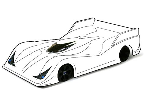 race car template blank templates for designing on paper page 63 r c tech forums