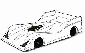 Blank templates for designing on paper page 63 r c for Blank race car templates