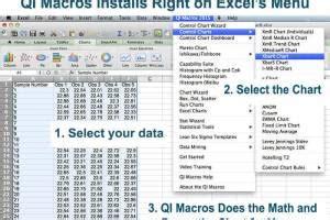qi macros spc software  excel