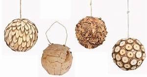 Objet Deco Bois Naturel : boule bois deco l 39 habis ~ Teatrodelosmanantiales.com Idées de Décoration