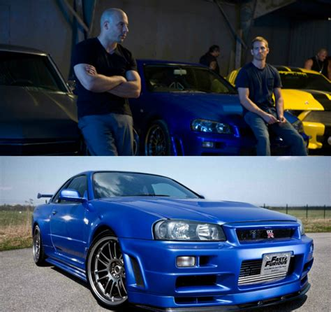 Paul Walker S Nissan Skyline Gt R 34 Up For Sale Video