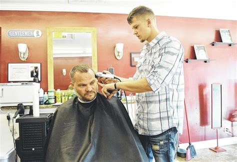 Teen Barber Opens New Business Bob Hair For Square Face High Top Fade Haircut Jaden Smith Zayn Malik Hairstyle Tutorial Youtube Hairstyles African American Shoulder Length Copper Red Hipster Thick Black Beard Guys With Cowlicks