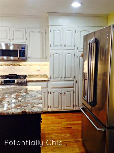 Kitchen Makeover in Antique White Milk Paint   General