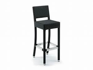 Barhocker Für Draußen : gewebte stuhl mit r ckenlehne f r den au enbereich ~ Michelbontemps.com Haus und Dekorationen
