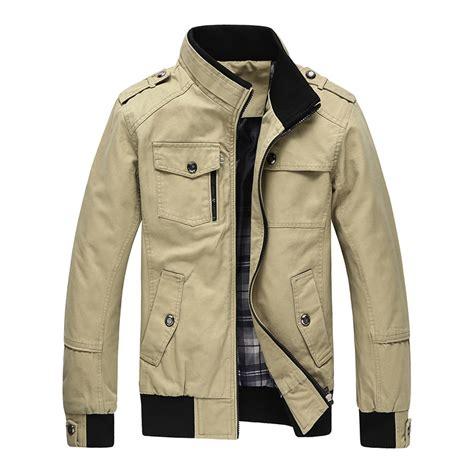 Autumn Spring Jacket Men Casual Comfortable Coats