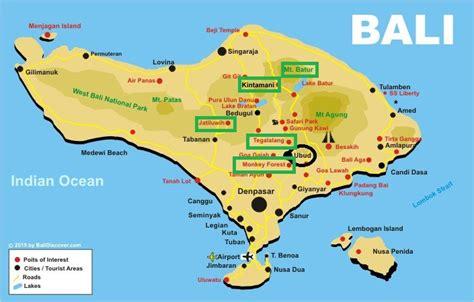 bali map ubud blonde   world