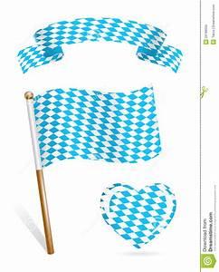 Set Of Bavaria Flag Icons Royalty Free Stock Images ...