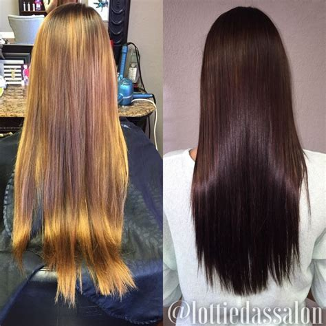rich chocolate brown hair color before after rich chocolate brown hair color my style