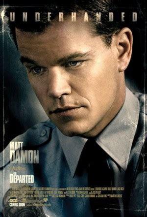 Matt Damon Quotes The Departed