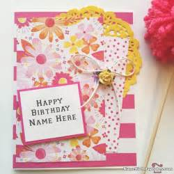 happy birthday wishes with name writing option