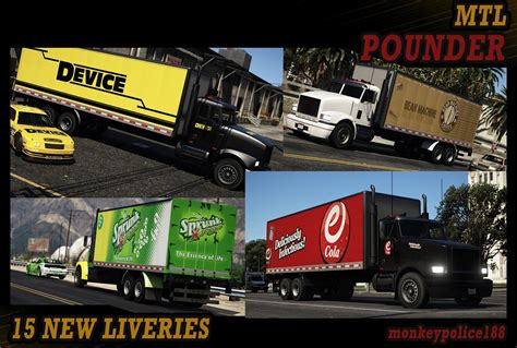 Lore-Friendly Liveries for MTL Pounder [Add-On   Liveries ...