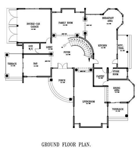 ground floor plan ground floor plan for home luxury house plans