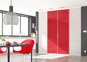 Porte De Cuisine Sur Mesure : portes de placard coulissantes de cuisine sur mesure ~ Nature-et-papiers.com Idées de Décoration