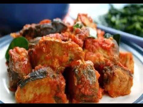 resep ikan tongkol sambal padang youtube