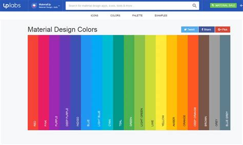 tools  generating material design color palettes css author