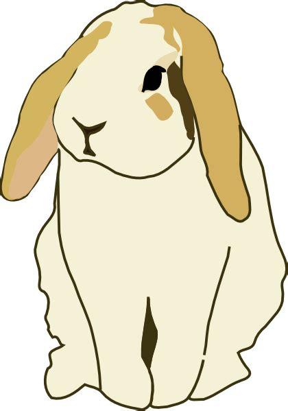 gingercoons lop eared rabbit clip art  clkercom