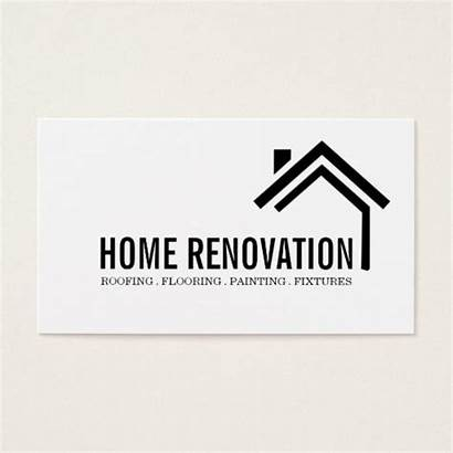 Renovation Remodeling Business Construction Card Cards Logos