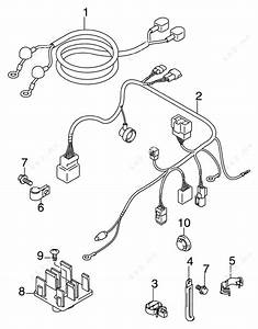 Johnson 2007 25 - Bj25tl4suc  Engine Electrical Harness