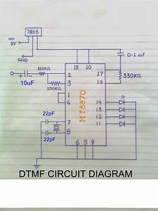 How To Make Dtmf Decoder  Electronics Project