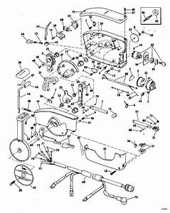 Johnson Remote Control Parts For 1978 55hp 55e78s Outboard