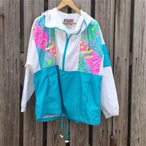 Vtg 80s 90s FLYING COLORS Neon from Tomie Harlene Vintage