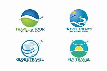 Travel Agency Logos Tourism Ticket Tour Sign