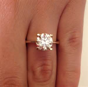 solitaire engagement rings yellow gold solitaire engagement rings and elegance