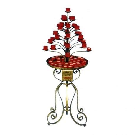 candelieri votivi candeliere votivo in ferro battuto per lumini