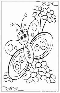 Schmetterlinge, Ausmalbild, F, U00fcr, Kinder, Zum, Ausdrucken