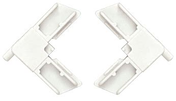 top square cut plastic screen frame corners biltbest window parts