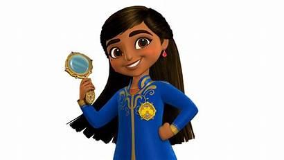 Disney Animated Series Royal Mira Detective Asian