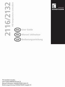 2116 And 2132 Multi Language User Guide