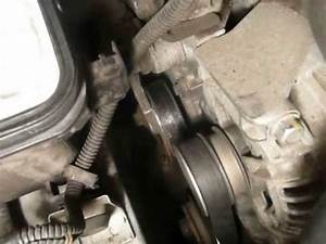How To Remove The Serpentine Belt On A Saturn L200