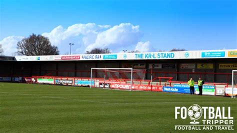 l on a stand broadfield stadium guide crawley town football tripper