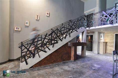 les ateliers brice bayer architecture d int 233 rieur garde corps en acier barri 232 re d escalier